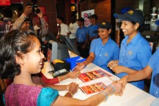Aksha at McDonalds Morning Break Fast Launch