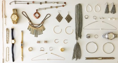 Ideas for jewelry to accessorize with. Pieces from Forever 21, Charlotte Russe, Michael Kors, Asos, and family jewelry.